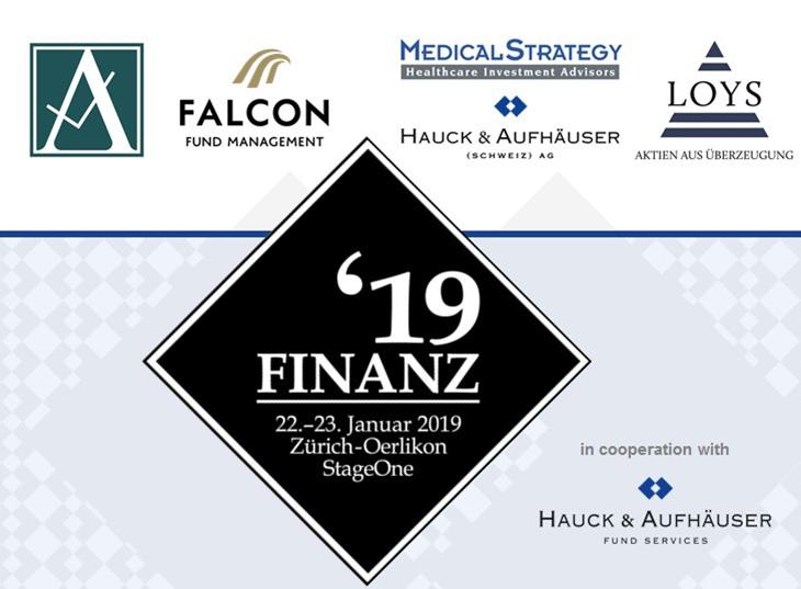 Finanzexperten auf der Finanz19